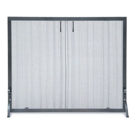 styled replacement doors antique home fireplace brass screen curtain mesh depot installation screens