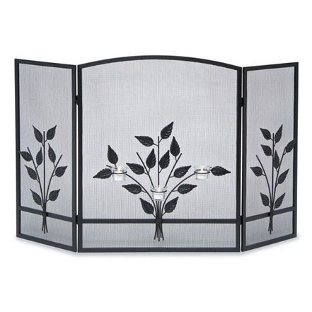 Three Tea Light on Rose Like Bouquet
