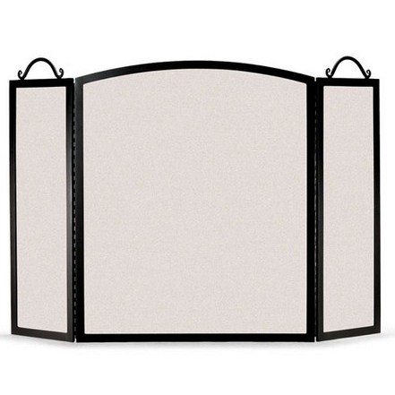 Traditional Arch 3 Panel Folding Screen