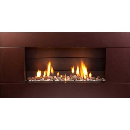 ST900 Gas Fireplace - Florentine Bronze