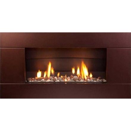 ST900 Gas Fireplace - Florentine Bronze