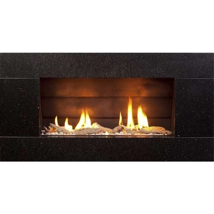 ST900 Gas Fireplace - Natural Granite Stone Front - Buy Online ST900 Gas  Fireplace - Natural - Gas Fireplace Stones Anata Decor