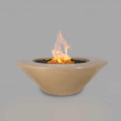 cazo fire pit brown