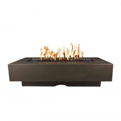 del mar concrete fire pit chocolate