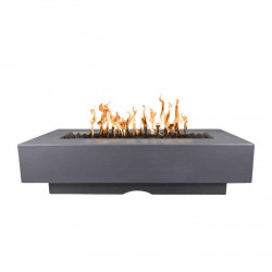 del mar concrete fire pit gray
