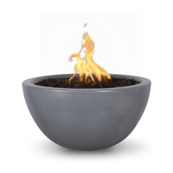 lunagfrcfirebowl30inchgray