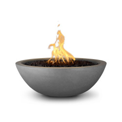 sedona gfrc fire bowl natural gray