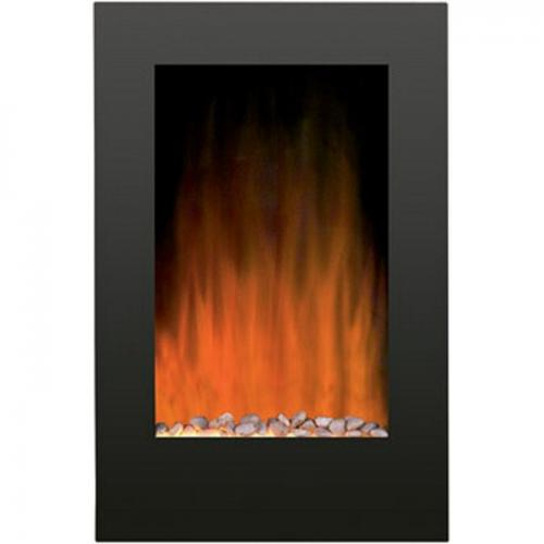 """23"""" x 35"""" Flat Front Electric Fireplace"""