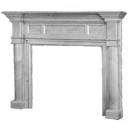 Surround Mantel Buckingham - Poplar
