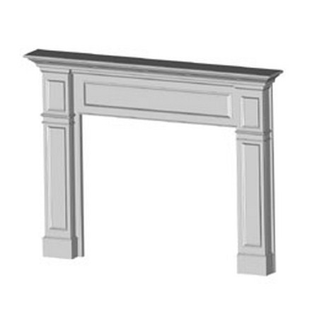 Surround Mantel Kingston - Oak