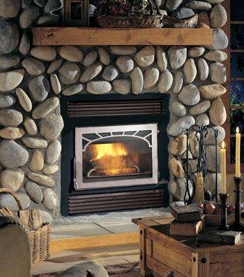 NZ26 Wood Fireplace