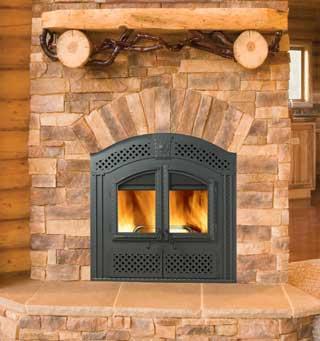 NZ26-WI Wood Burning Fireplace
