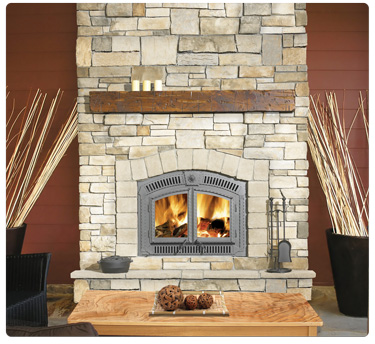 NZ3000 Wood Burning Fireplace