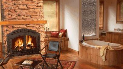 NZ6000 Wood Burning Fireplace