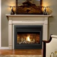 Classic Gas Fireplaces - Louvers