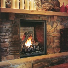 Gas Fireplaces - Vertical