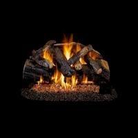 Glass, Rocks, Gas logs & burners