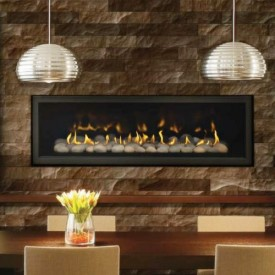 Modern Gas Fireplaces - Linear