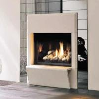 Modern Gas Fireplaces - SQUARE